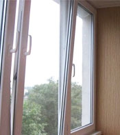 Теплое остекление балконов и лоджий пластиковым профилем