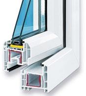 Пластиковые окна Rehau Estet - Design