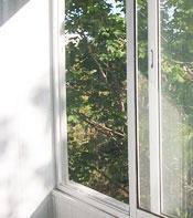 Холодное остекление балконов и лоджий алюминиевым профилем Provedal